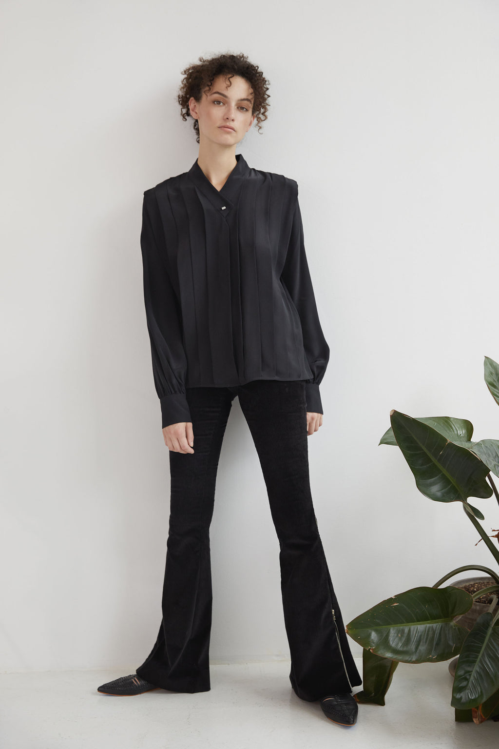 Cleo Blouse - Black