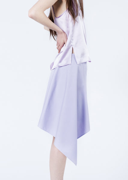 Lilac Asymmetric Skirt