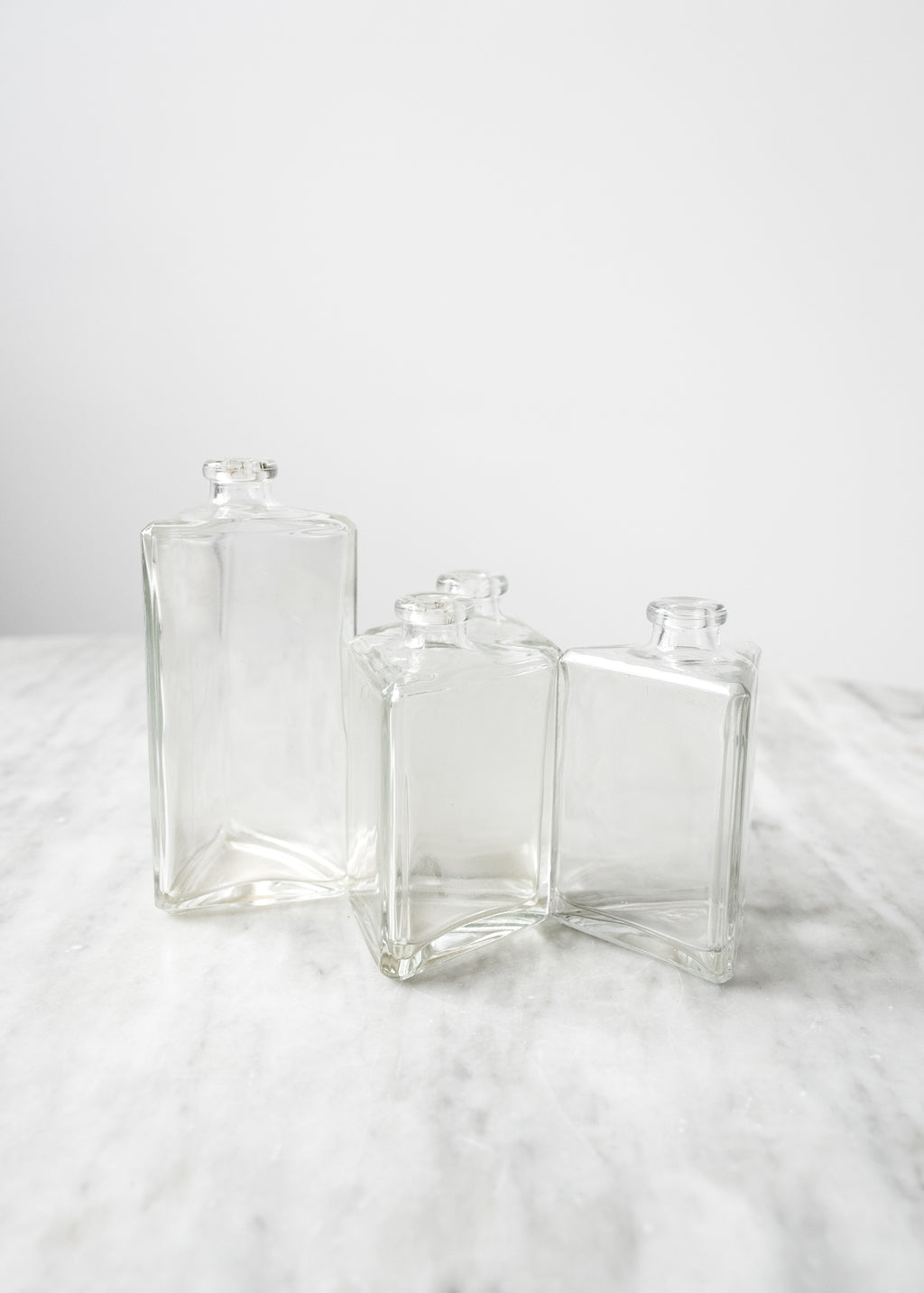 Vintage Triangle Bottles