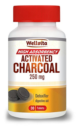 Wellvita Activated Charcoal