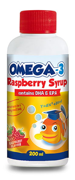 Star Kids Omega-3 Raspberry Syrup
