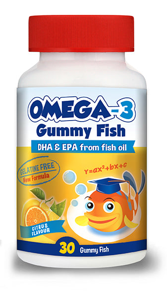 Star Kids Omega-3 Gummy Fish