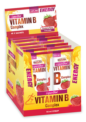Wellvita Vitamin B Co Liqui-Shot 10ml (sachets)