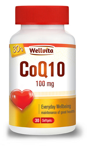 Wellvita CoQ10 100 mg
