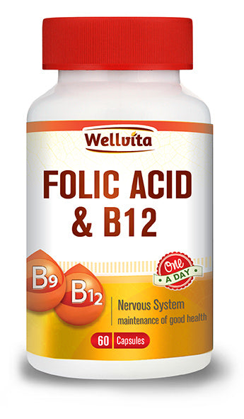 Wellvita Folic Acid & B12