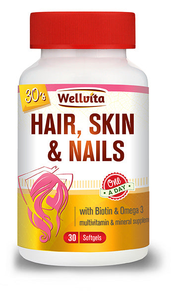 Wellvita Hair, Skin & Nails