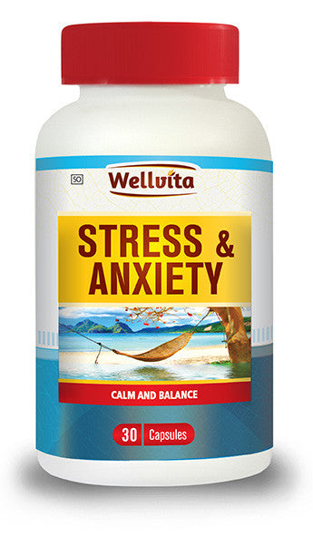 Wellvita Stress & Anxiety 30 capsules