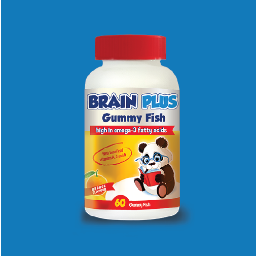 Brain Plus Gummy Fish