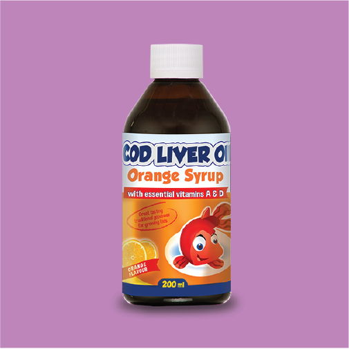 Cod Liver Oil Syrup