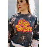 Hate Elsewhere Bleached Sweatshirt