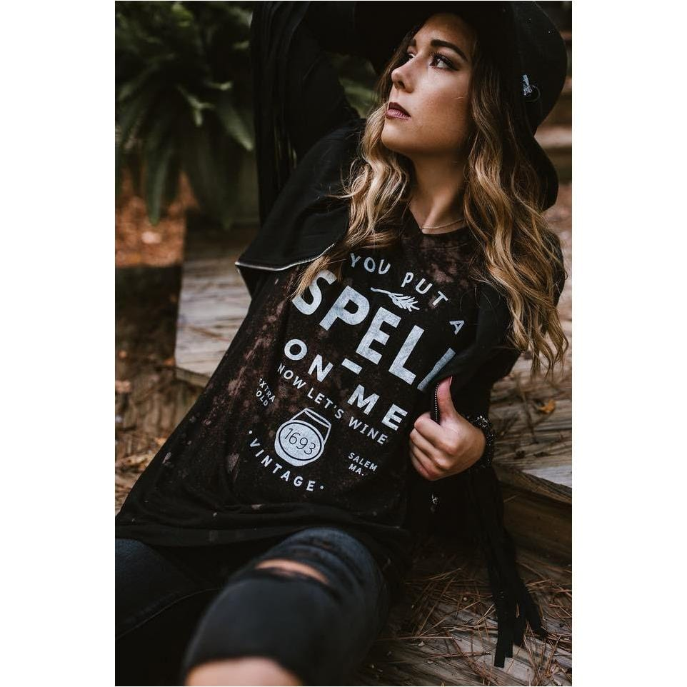 I put a Spell on you shortsleeve