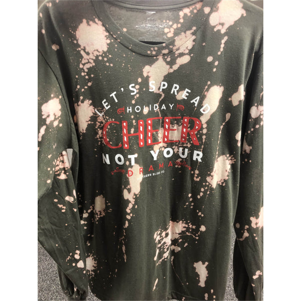 Spread holiday cheer bleached olive Longsleeve