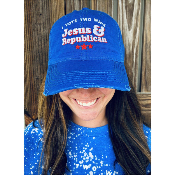 Jesus & Republican Royal Hat