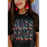 Hugs not Drugs Cropped Tee