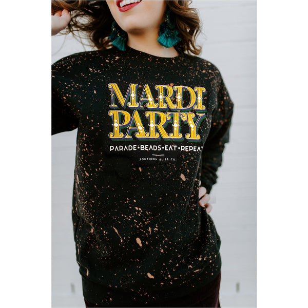 Mardi Party Sweatshirt