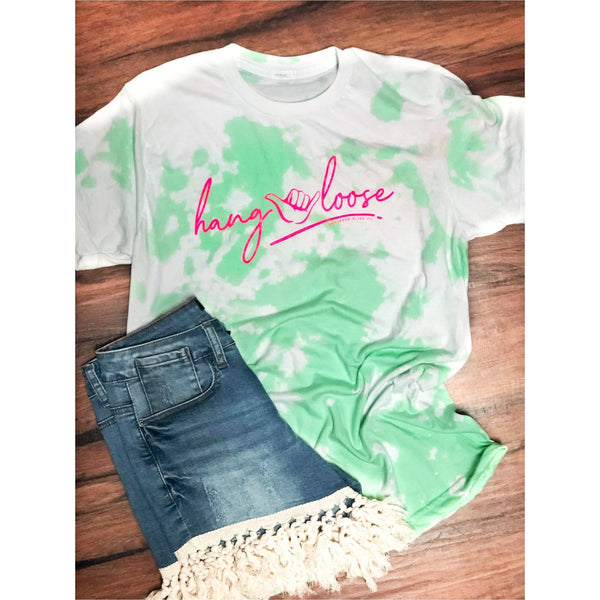 Hang Loose Bleached Tee
