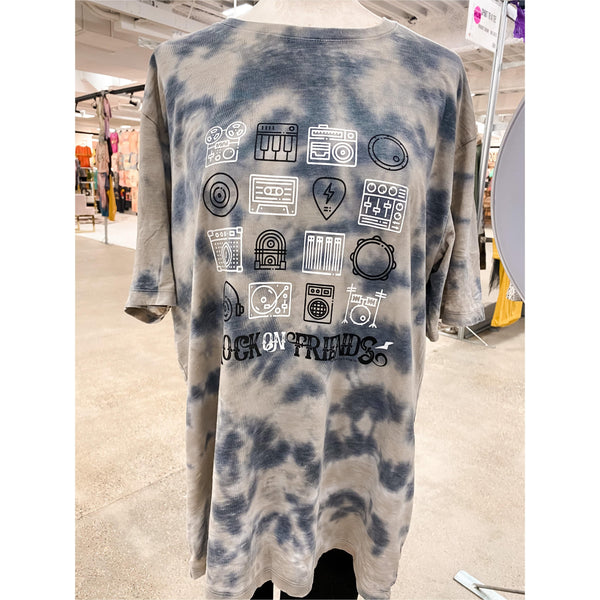 Rock On Friends Tie Dye Longsleeve