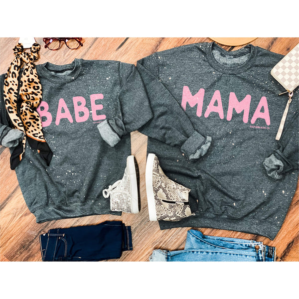 BABE Youth Bleached Sweatshirt