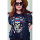Liberty or Death Bleached Tee