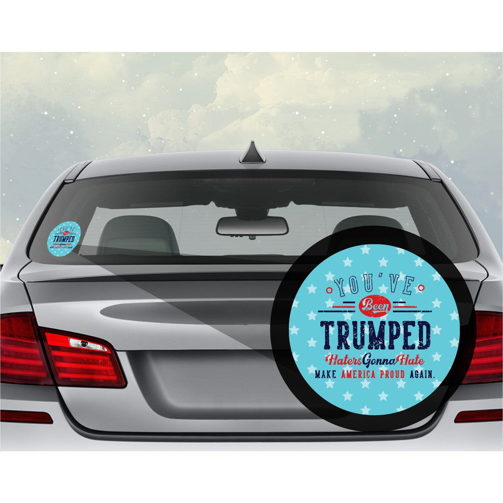 You've Been Trumped Car Decal