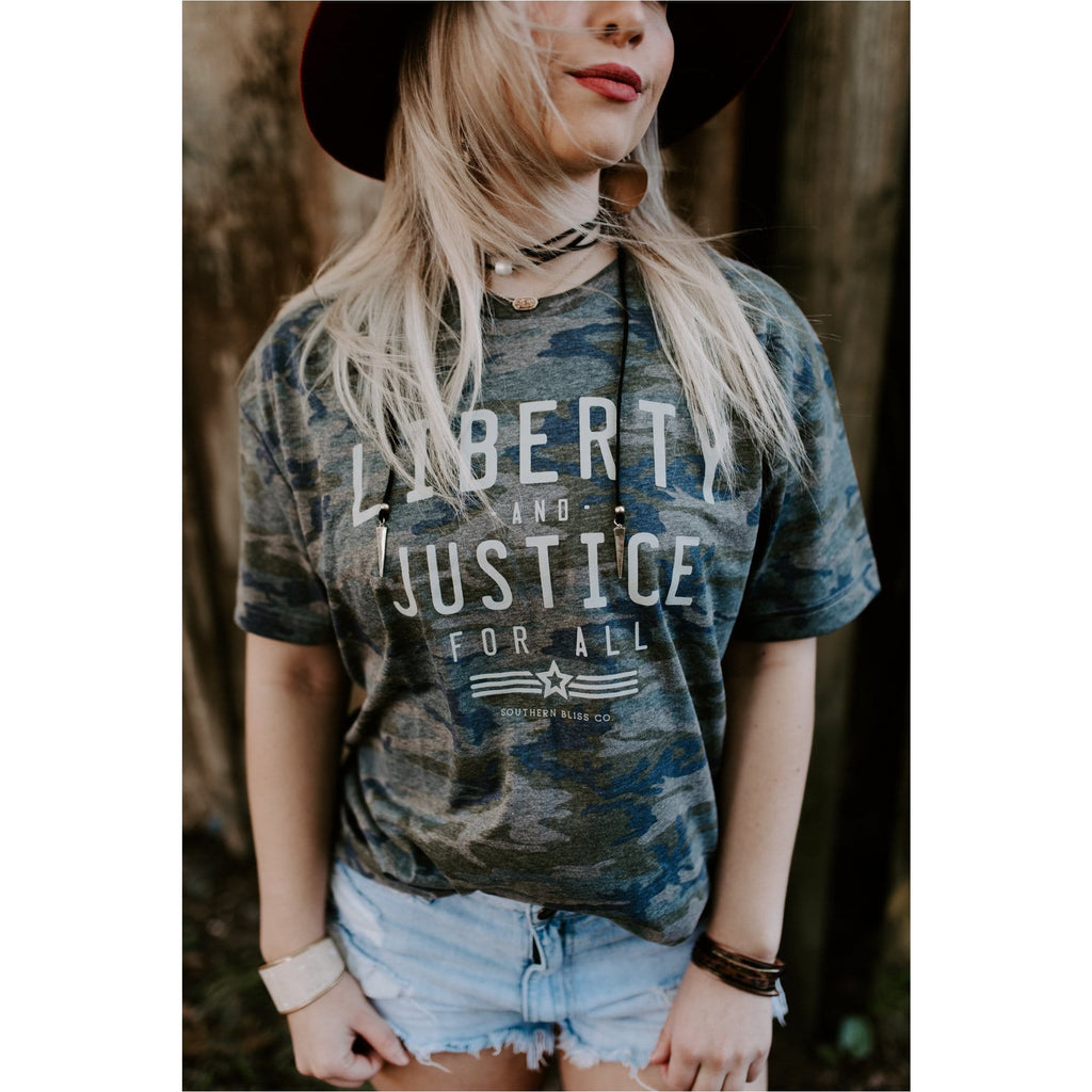 Liberty and Justice Camo ADULT