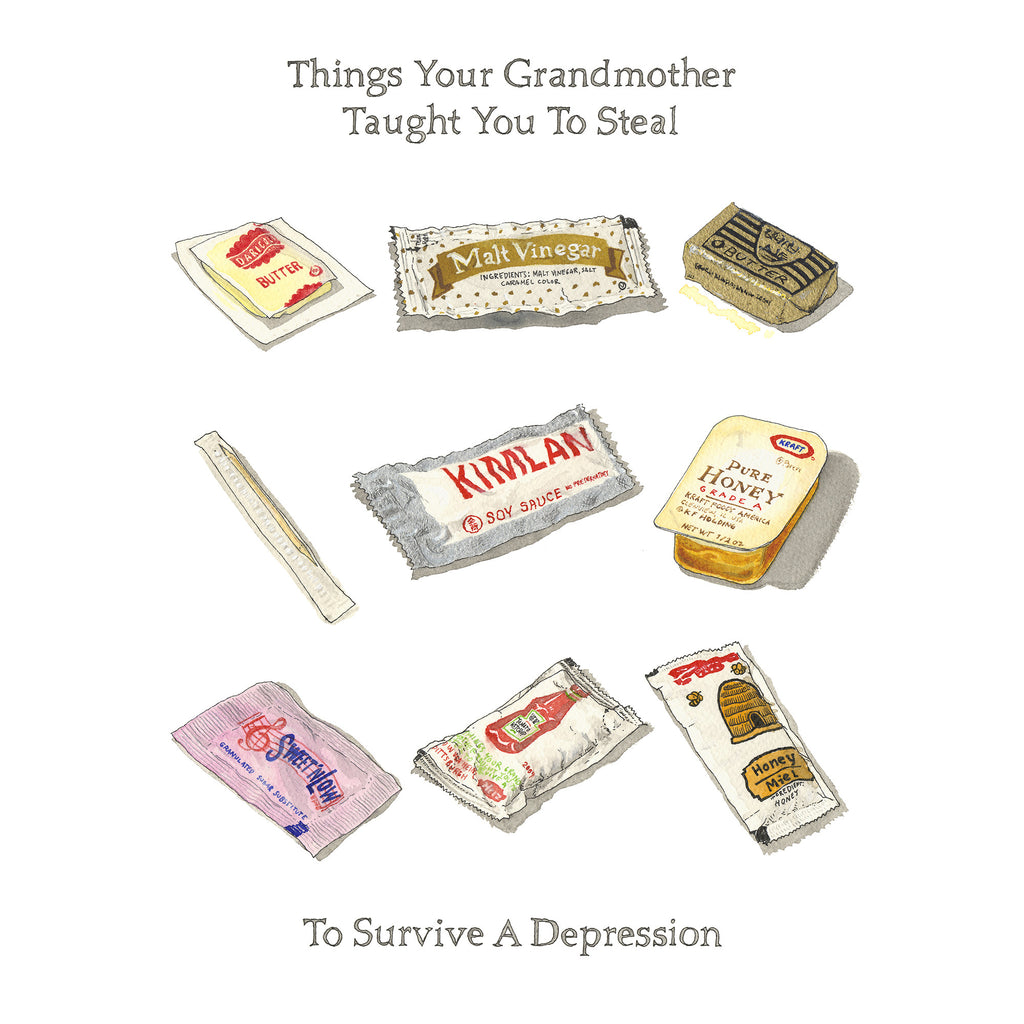 Album 01 • Things Your Grandmother Taught You to Steal