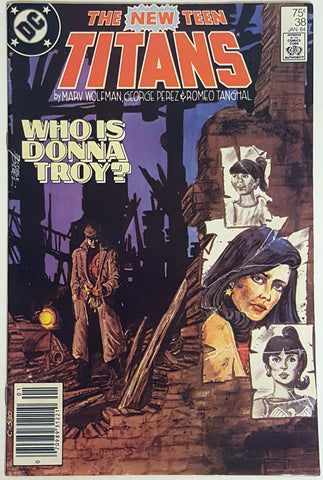 The New Teen Titans #38 DC Comics 1983 Donna Troy Robin