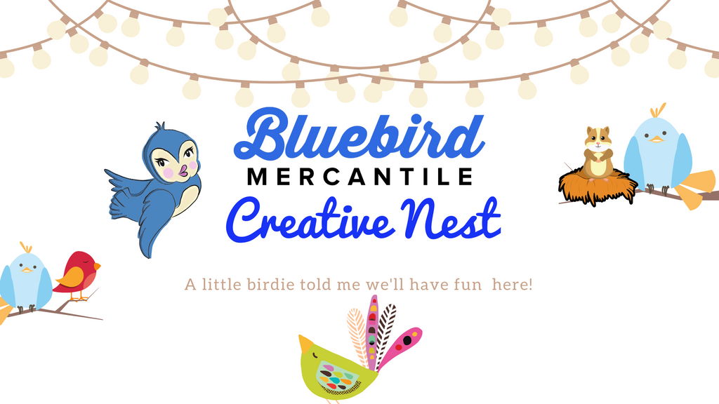 Bluebird Mercantile Updates on products and new website!