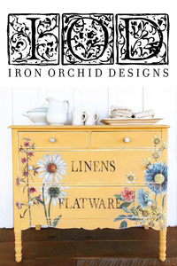 Iron Orchid Designs Decor Transfers are arriving now!
