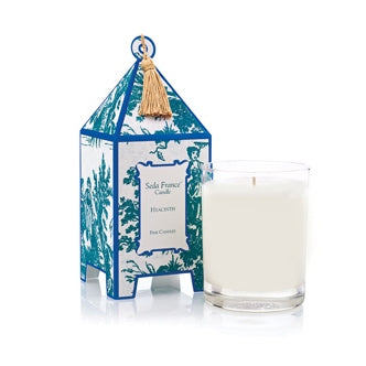 Seda France Candles - Hyacinth Classic Toile Mini Pagoda Box Candle