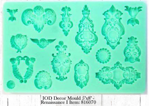 Iron Orchid Designs Gen 1 Décor Mould Renaissance 2