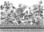 Iron Orchid  ASTORIA FOLIAGE 24X33 PAINTABLE™ DECOR TRANSFER™ - BluebirdMercantile
