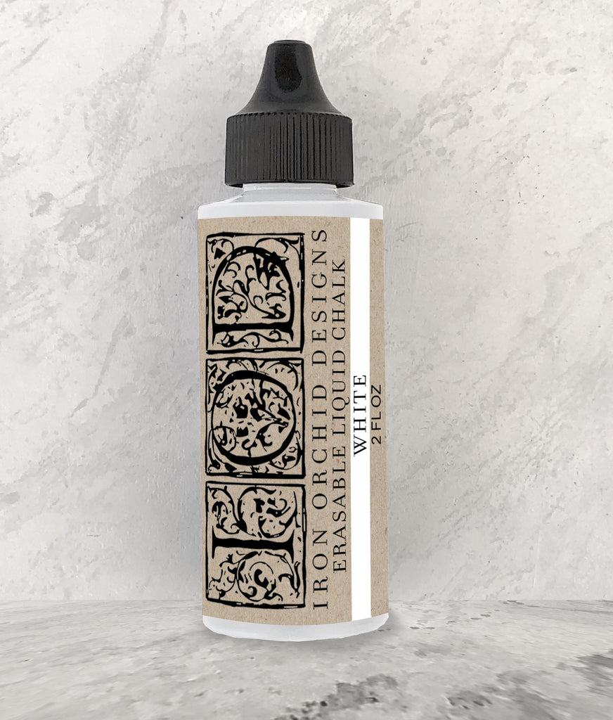 Iron Orchid Design ERASABLE LIQUID CHALK - BluebirdMercantile