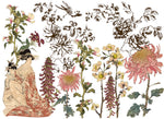 Iron Orchid Japonica 24X33 Decor Transfer - BluebirdMercantile