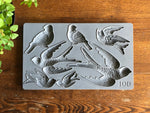 Iron Orchid Design BIRDSONG 6×10 DECOR MOULDS™ - BluebirdMercantile
