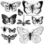 Iron Orchid Designs Butterflies Decor Stamps - BluebirdMercantile