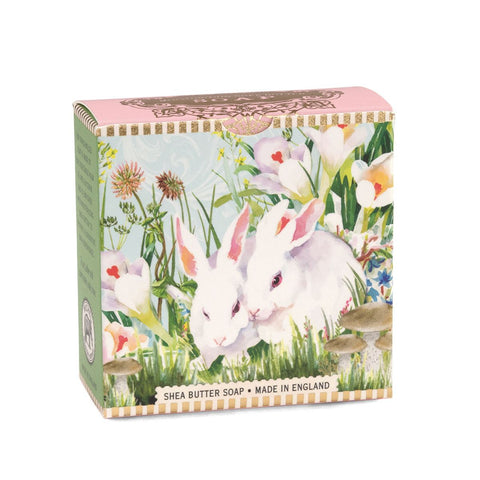 Michel Design Works Bunny, Bunny A Little Soap 3.5 oz Gift Boxed Soap with adorable Bunny artwork