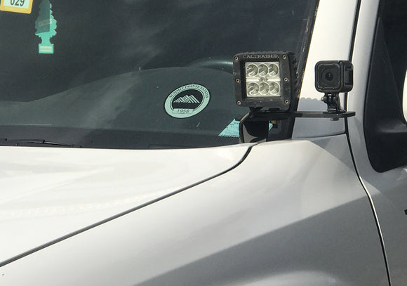 Ditch Light Bracket Extensions - Cali Raised LED
