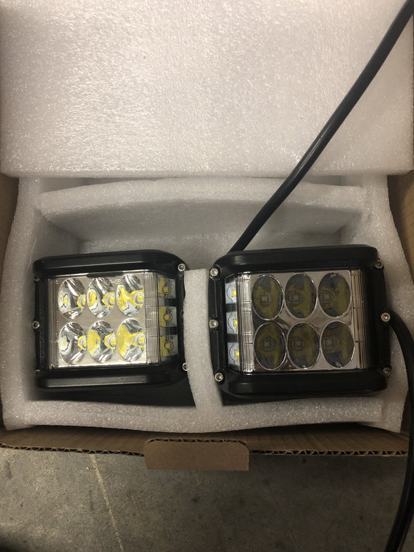 Side projecting led pods (pair) #001 - Cali Raised LED