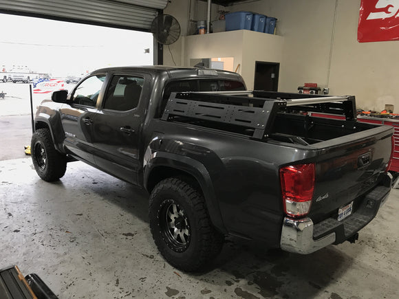 Overland Bed Rack - Cali Raised LED