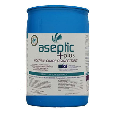 Aseptic +plus Disinfectant Cleaner - 55 Gallon Drum
