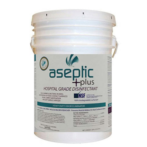 Aseptic +plus Disinfectant Cleaner - 5 Gallon Pail