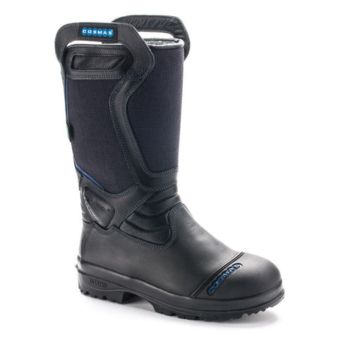 "Cosmas Vulcan 14"" Leather / Kermel Structural Bunker Boot"