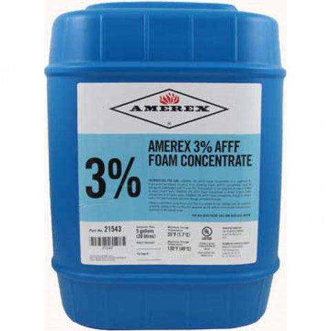 Amerex 3% AFFF Foam Concentrate