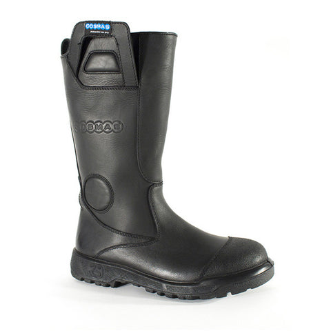 "Cosmas Apollo 14"" Leather Structural Bunker Boot"