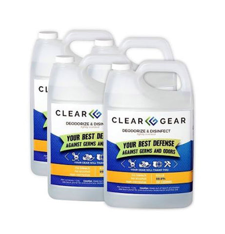 Clear Gear Disinfectant & Deodorizing Spray - Gallon Case