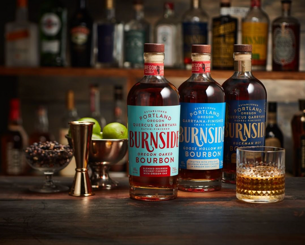Eastside distilling's line of Burnside Bourbons
