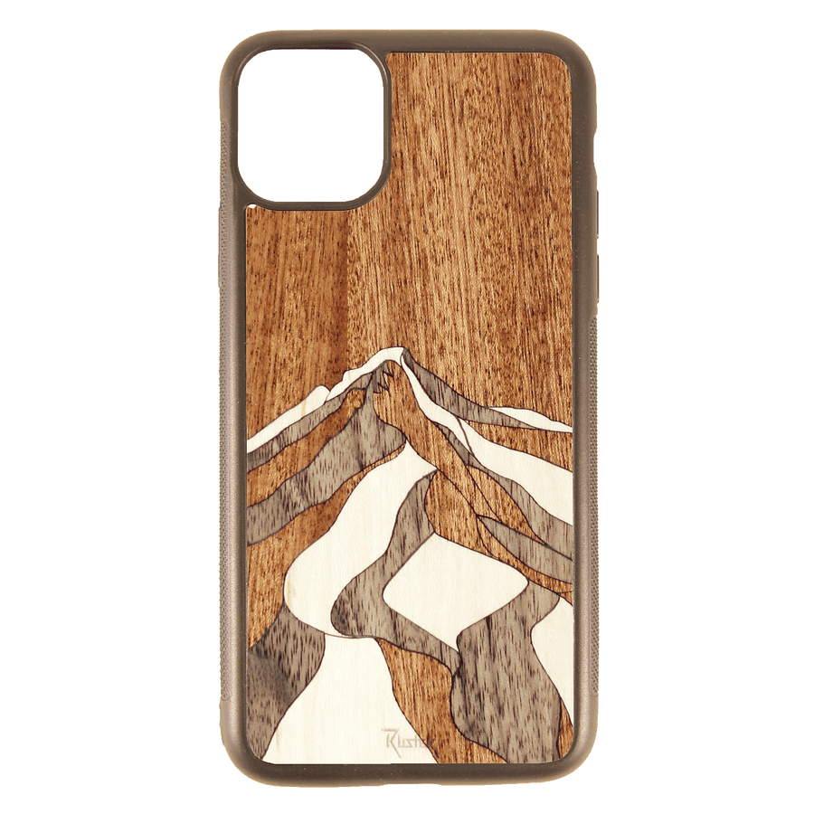Rustek Mt. Hood Inlay iPhone Case