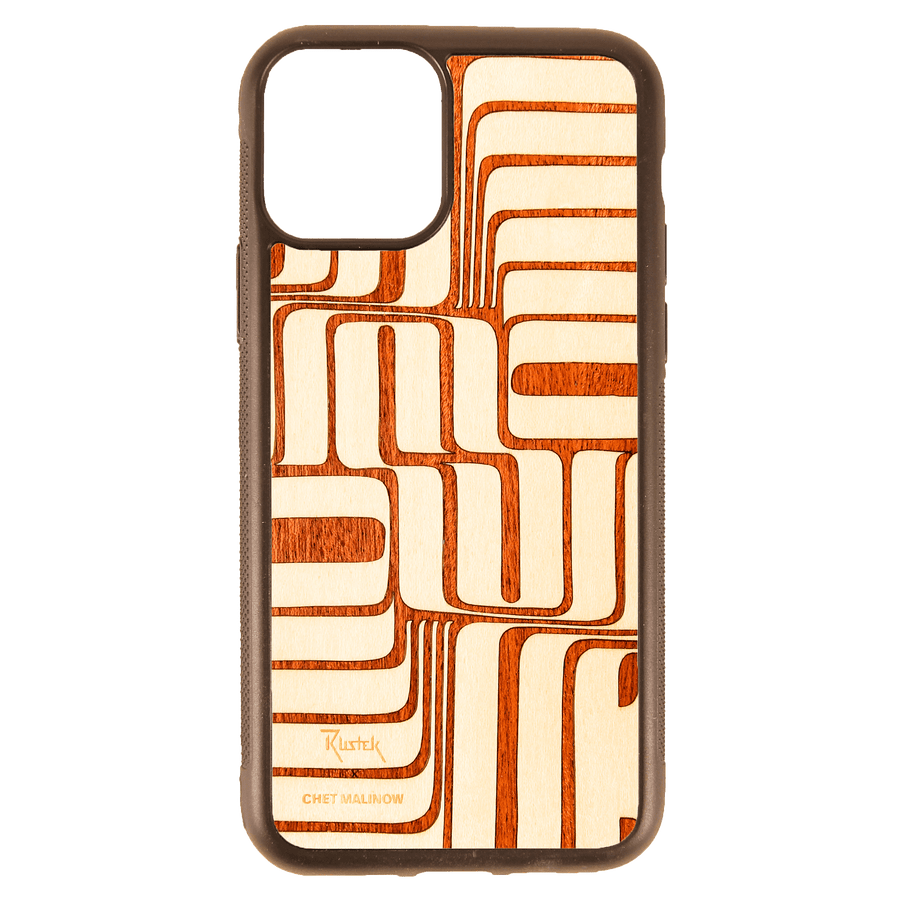 Chet Malinow x Rustek Inlay iPhone 11 Pro Case
