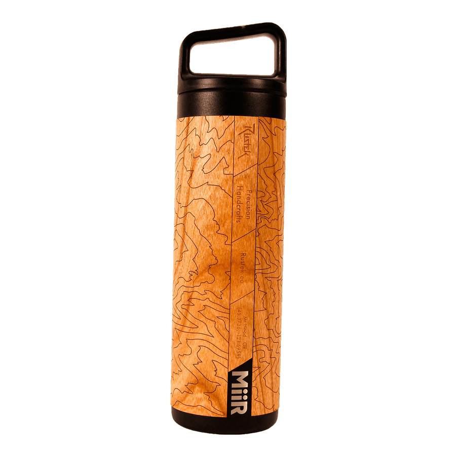 Mt. Hood Topo 20oz Wide Mouth Bottle